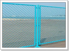 Expanded Wire Fence
