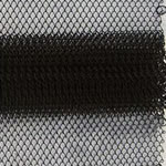 Black Steel Mesh for Fireplace Screen